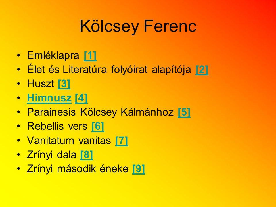 Kölcsey Ferenc Emléklapra [1]